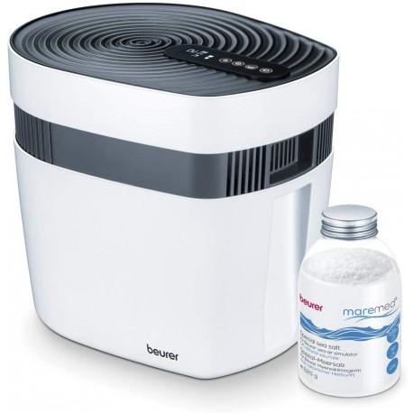 Jūros oro kondicionierius, drėkintuvas, valytuvas Beurer maremed® MK 500Oro valytuvas - drėkintuvas LW220W